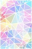 Colorful mosaic banner. Stock Photos