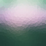 Colorful mosaic banner for your design. Geometric retro backgrou. Nd. Honeycomb with gradient background. Sunset bokeh texture Royalty Free Stock Photos