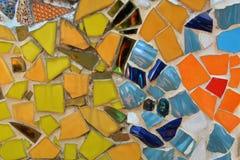 Colorful Mosaic Ceramic Tile Stock Photo