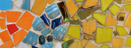 Colorful Mosaic Ceramic Tile Royalty Free Stock Photos