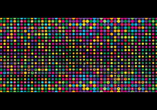 Colorful mosaic with dots Royalty Free Stock Photos
