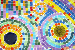 Colorful mosaic floor Stock Images