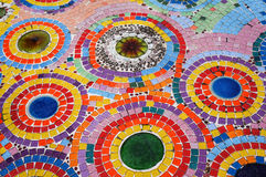 Colorful mosaic floor Stock Image