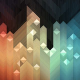 Colorful Mosaic. Colorful geometric abstract background made of mosaic pattern Stock Photos