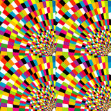 Colorful mosaic geometric background Royalty Free Stock Photos