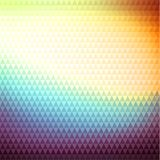 Multicolored polygonal background with triangular pattern Royalty Free Stock Images