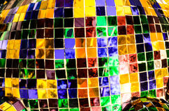 colorful mosaic mirror art background Stock Image