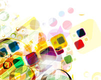Colorful mosaic pattern design Stock Image