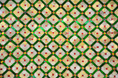 Colorful mosaic pattern, Thai style. Stock Photography