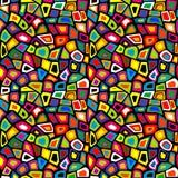 Colorful mosaic seamless Stock Photo