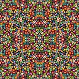 Colorful mosaic seamless Stock Image