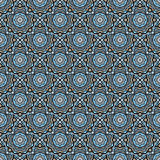 Colorful mosaic seamless pattern background Royalty Free Stock Images