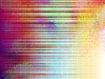 Colorful mosaic stripes, vector Royalty Free Stock Photo
