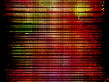 Colorful mosaic stripes, vector Royalty Free Stock Images
