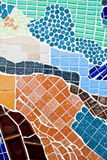 Colorful mosaic textured Royalty Free Stock Images
