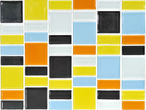 Colorful Mosaic Tile Stock Images