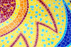Colorful mosaic tile Stock Image