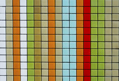 Colorful mosaic tiles Stock Image