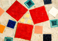 Colorful of Mosaic tiles Stock Photo