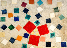 Colorful of Mosaic tiles Stock Photography