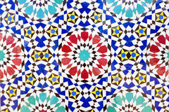 Colorful mosaic tiles. From Morocco Stock Images