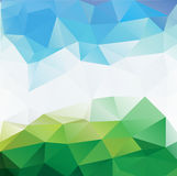 Colorful mosaic triangle background. This is file of EPS10 format Royalty Free Stock Photography