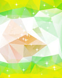 Colorful mosaic triangle background. This is file of EPS10 format Stock Photo