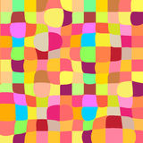 Colorful mosaic twisted background Royalty Free Stock Images