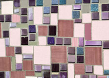 Colorful mosaic on the wall Stock Image