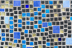 Colorful mosaic on the wall Stock Photo