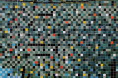 Colorful mosaic on the wall Stock Photography