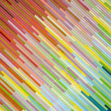 Colorful mosaic wall texture and background Stock Images