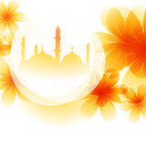Colorful mosque design Stock Photos