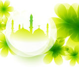 Colorful mosque design Stock Photography