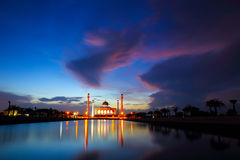 Colorful mosque. At Songkhla,Thailand Stock Photography