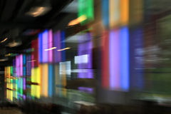 Colorful motion blur Royalty Free Stock Photos