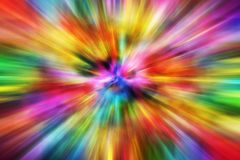 Colorful Motion Blur Royalty Free Stock Image
