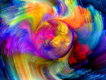 Colorful Motion Royalty Free Stock Photo