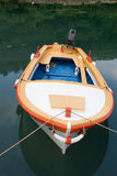 Colorful motorboat stock images