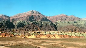 Colorful mountain Stock Image