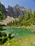 Colorful mountain lake Stock Photo