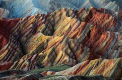 Colorful mountain landscape