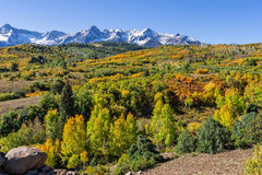 Colorful Mountain Scenic in Autumn Royalty Free Stock Image