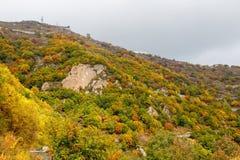 Colorful Mountain Slope of Baihua Mountain� Beijing Stock Photo