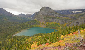 Colorful Mountain Valley in the Fall Royalty Free Stock Photography