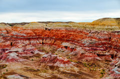 Colorful Mountain, Xinjiang China Stock Photography