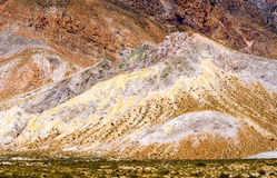 Colorful mountains Stock Photography