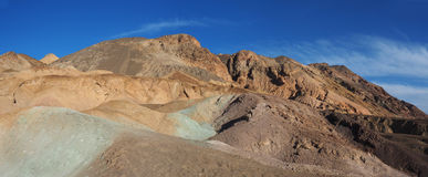 Colorful Mountains on Artist Drive, Death Valley Royalty Free Stock Photo