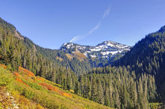 Colorful mountains in autumn Royalty Free Stock Photography