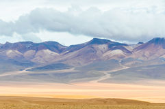 Colorful mountains in the High Andean Plateau, Bolivia Stock Image